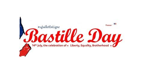 On-line National day (Bastille Day) - 14 July 2020